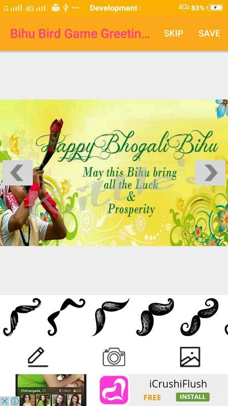 Bihu bird game greetings maker for messages wishes for android apk bihu bird game greetings maker for messages wishes screenshot 1 m4hsunfo