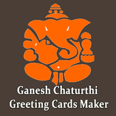 Ganesh Chaturthi Greeting Cards Maker For Messages icon