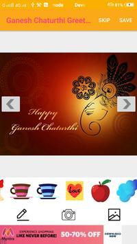 Ganesh Chaturthi Greeting Cards Maker For Messages screenshot 5