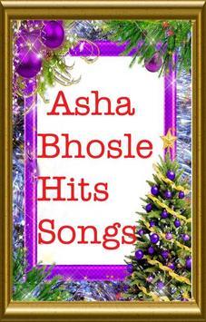 ASHA BHOSLE HITS SONGS screenshot 1