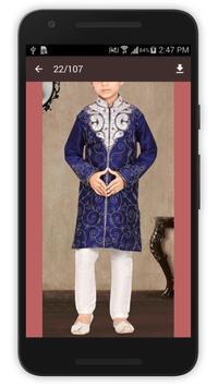 Children Sherwani 2018 apk screenshot