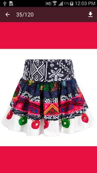 Baby Skirt Idea apk screenshot