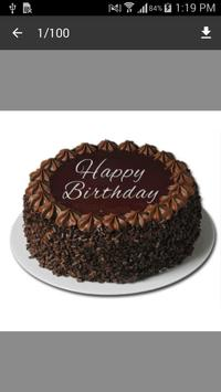 Birthday Cake Design 2017 poster
