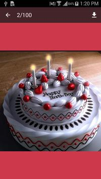 Birthday Cake Design 2017 apk screenshot