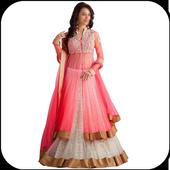 Indo Western Dress Design icon