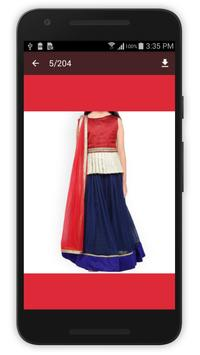 Lehenga Choli Design 2017 screenshot 2