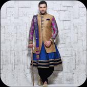 Men Sherwani Design 2017 icon