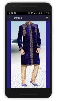 Men Sherwani Design 2017 screenshot 4