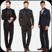 Stylish Man Suit 2017 icon