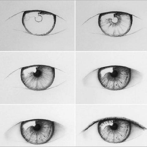 Oeil Facile A Dessiner