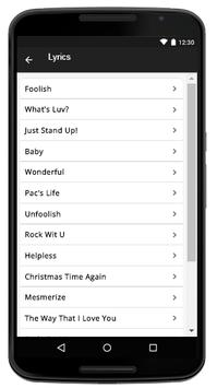 Ashanti - Music And Lyrics screenshot 2