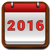 Calendar 2016 Frames Photo icon