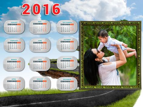 Calendar 2016 Frames Photo apk screenshot