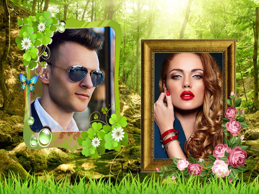 Jungle Dual Photo Frames APK Download - Free Photography APP for ...