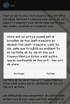 Mes Citations screenshot 5