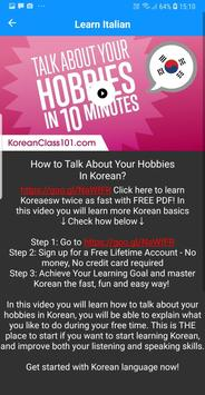 Learn Korean with KoreanClass101 for Android - APK Download