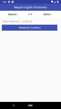 Nepali English Dictionary poster