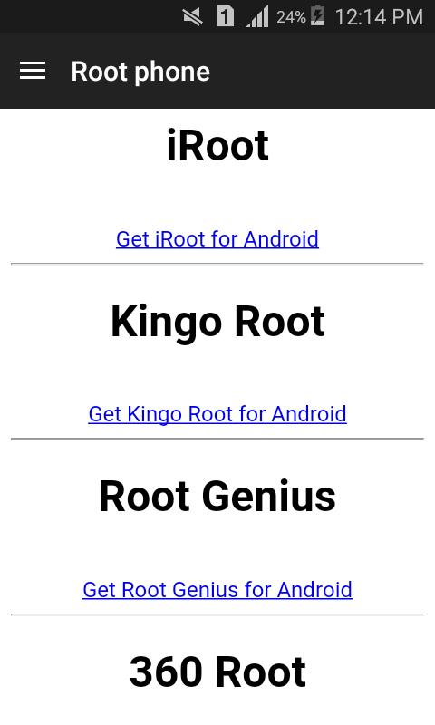 Droid-ROOT for Android - APK Download