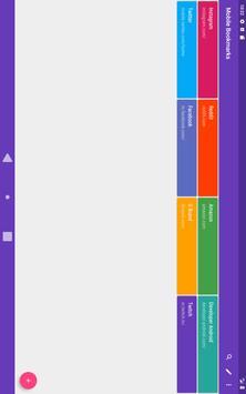 Mobile Bookmarks screenshot 8
