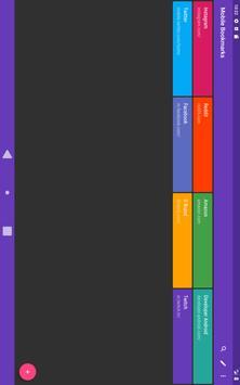 Mobile Bookmarks screenshot 9