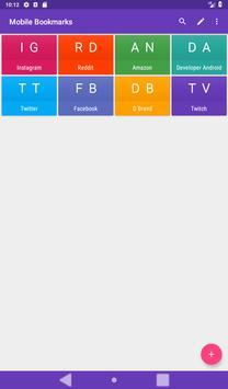 Mobile Bookmarks screenshot 13