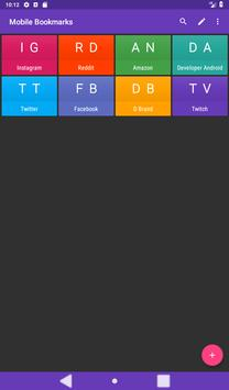 Mobile Bookmarks screenshot 14
