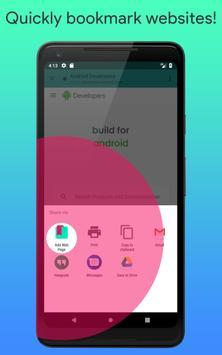 Mobile Bookmarks screenshot 2