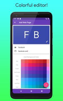 Mobile Bookmarks screenshot 3