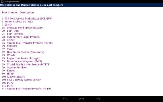 TCP/IP Tutorial apk screenshot