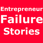 Entrepreneur Failure Stories icon