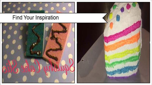 Adorable DIY Squishy Cake poster