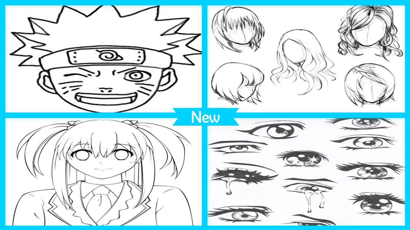 Easy Drawing Anime Character Face For Android Apk Download