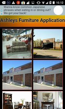 ashley furniture application apk screenshot