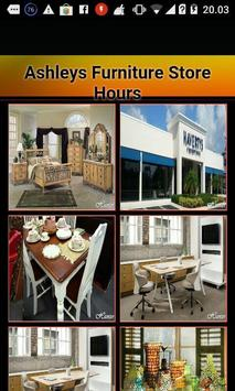 Ashley Furniture Store Hours poster