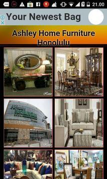 Ashley Home Furniture Honolulu poster
