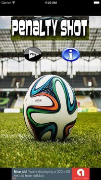 Penalty Shot Soccer poster