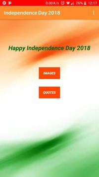 Independence Day Shayari poster