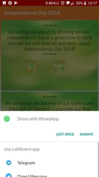 Independence Day Shayari screenshot 2