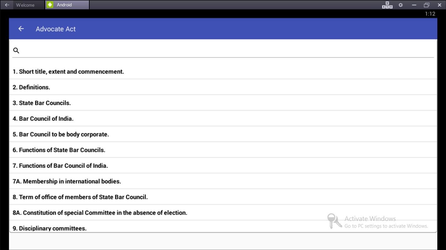 Indian law bare act for android apk download.