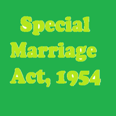 Special Marriage Act, 1954 icon
