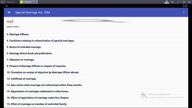 Special Marriage Act, 1954 screenshot 2