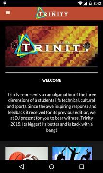 DJSCE Trinity poster