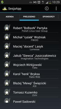 SesjaApp apk screenshot