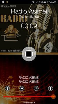 Radio ASIMEI poster