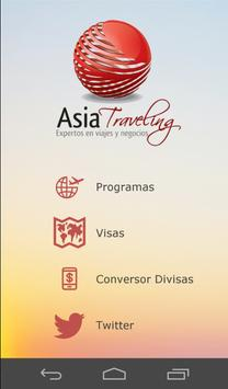 Asia Traveling poster