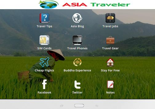 Asia Traveler apk screenshot