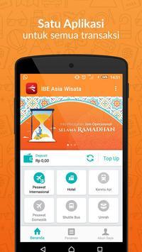 IBE Asia Wisata apk screenshot