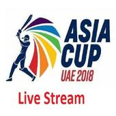 Asia Cup 2018 - Live Streaming Guide icon