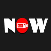 Now live icon