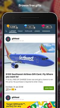 giftfeed - get free stuff! poster